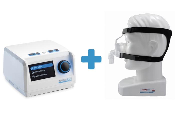 Оферта: Автоматичен APAP Blue AutoPlus +  Назална маска D100N 0