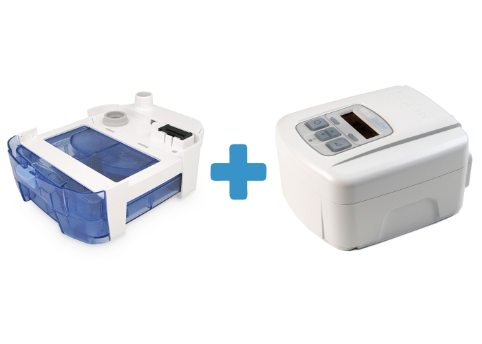 Оферта: Автоматичен APAP SleepCube AutoPlus + Подгряващ овлажнител за SleepCube 0