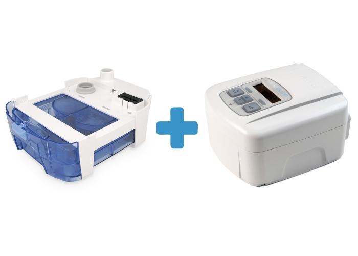 Оферта: Стандартен CPAP SleepCube Standard Plus + Подгряващ овлажнител за SleepCube 0