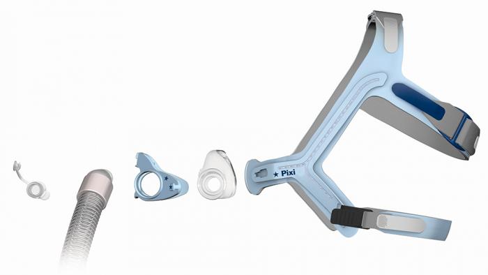 Педиатрична назална маска CPAP - PIXI 2