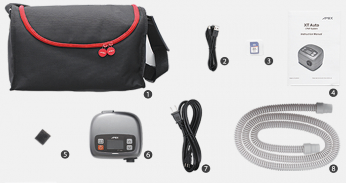 Автоматичен CPAP XT Auto c PVA [3]