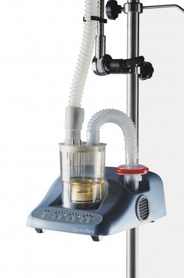 Инхалатор UltraNeb със статив 1.5м и затоплящ се маркуч 2