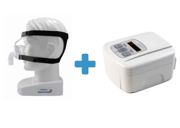 Оферта: Стандартен CPAP SleepCube Standard Plus + Назална маска D100N 0