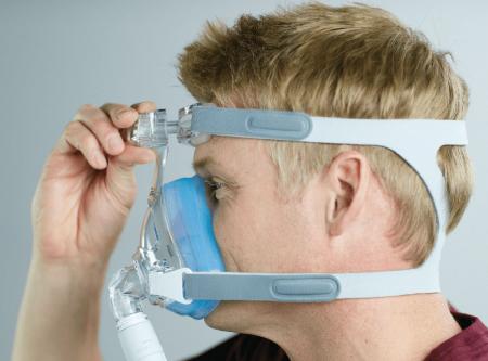 Лицева маска CPAP (Full Face) - AMARA GEL4