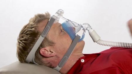 Лицева маска CPAP (Full Face) - AMARA GEL5