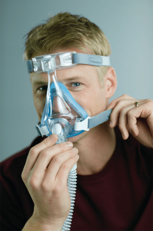 Лицева маска CPAP (Full Face) - AMARA GEL3
