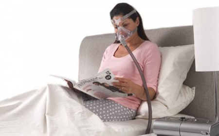Лицева маска CPAP (Full Face) - QUATTRO AIR5