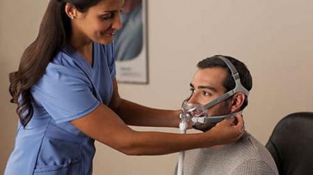 Лицеви mаски CPAP (Full Face) - Amara View7