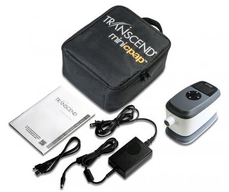 Мобилен Автоматичен CPAP c Овлажнител - Transcend 365 miniCPAP2