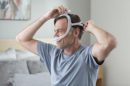 Назална маска с възглавници CPAP - DreamWear Gel5