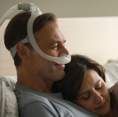 Назална маска с възглавници CPAP - DreamWear Gel7