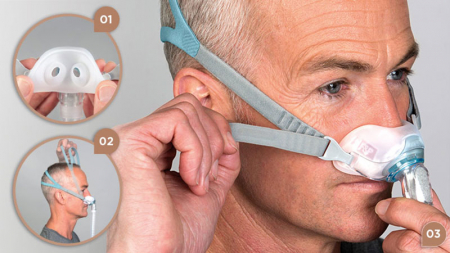 Назална маска с възглавници CPAP - F&P Brevida5
