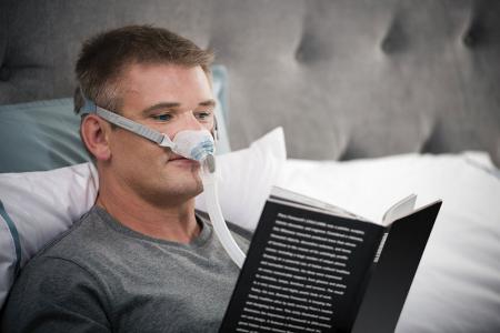 Назална маска с възглавници CPAP - F&P Brevida8