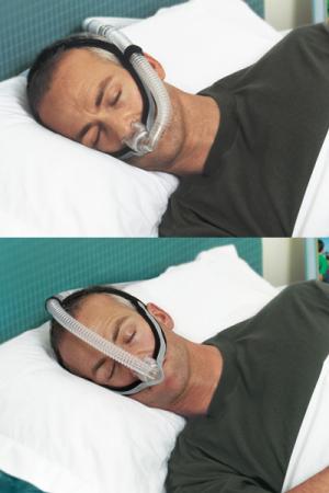 Назална маска с възглавници CPAP - F&P Opus 3604