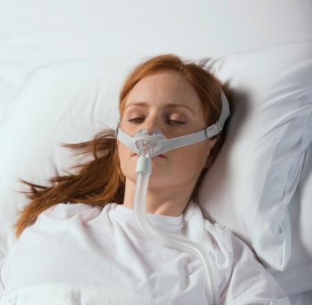 Назална маска с възглавници CPAP - Nuance Gel1