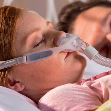 Назална маска с възглавници CPAP - Nuance Gel Pro5
