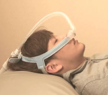 Назална маска с възглавници CPAP - Wizard 2306