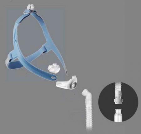 Назална маска с възглавници CPAP - Wizard 2301