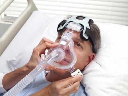 Неинвазивна вентилация маскa CPAP Full Face Performatrak NV4