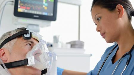 Неинвазивна вентилация маскa CPAP Full Face Performatrak NV2