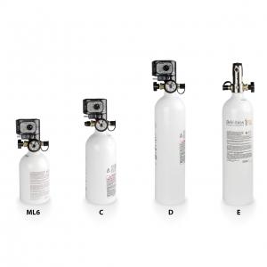 iFill + 2 бутилки с постоянен дебит (CF)3