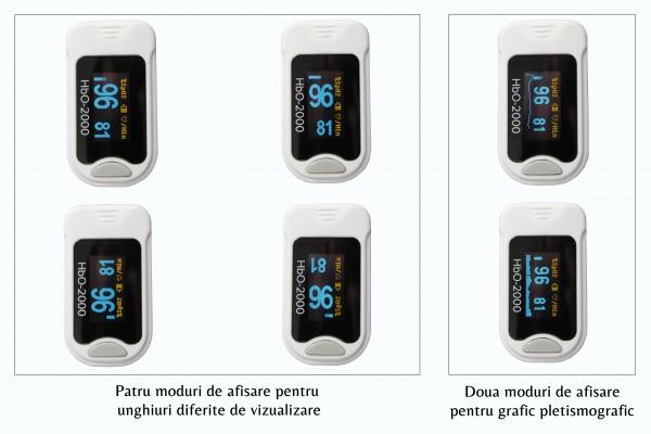 Pulsoximetru deget Hb0-2000 4