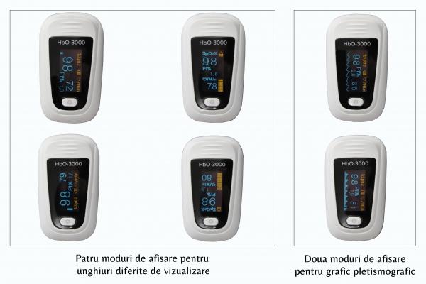 Pulsoximetru deget Hb0-3000 2
