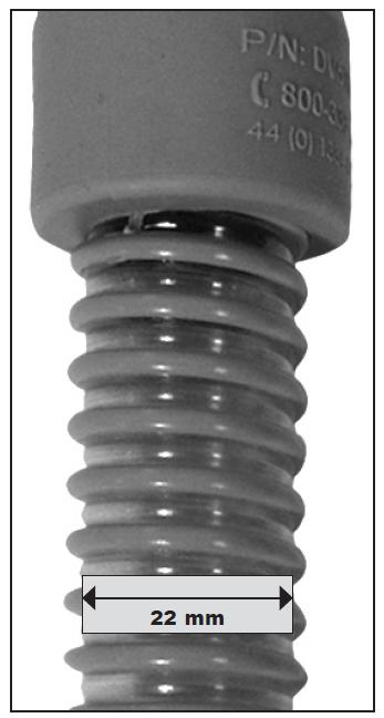 Furtun CPAP standard Ø 22mm/1.8 m 2