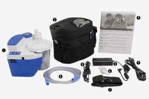 Aspirator Secretii VacuAide QSU 1200 ml (autoclavabil), fara baterie11