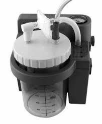 Aspirator Secretii VacuAide, 80-550 mmHg, 27 LPM, cu baterie 5