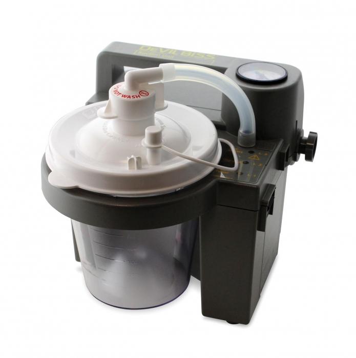Aspirator Secretii VacuAide, 80-550 mmHg, 27 LPM, cu baterie 0