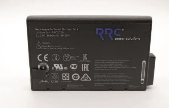 Baterie externa CPAP/ APAP/ BiPAP Blue - DeVilbiss (1 x Baterie 11.25 V) [0]