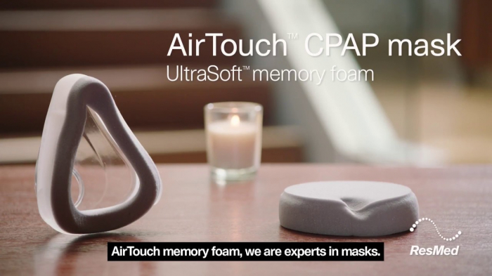Perna silicon masca CPAP Full Face AirTouch F20 2