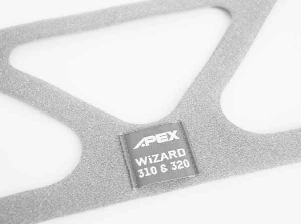 Ham masca CPAP FullFace Wizard 320 + 2xClips [1]