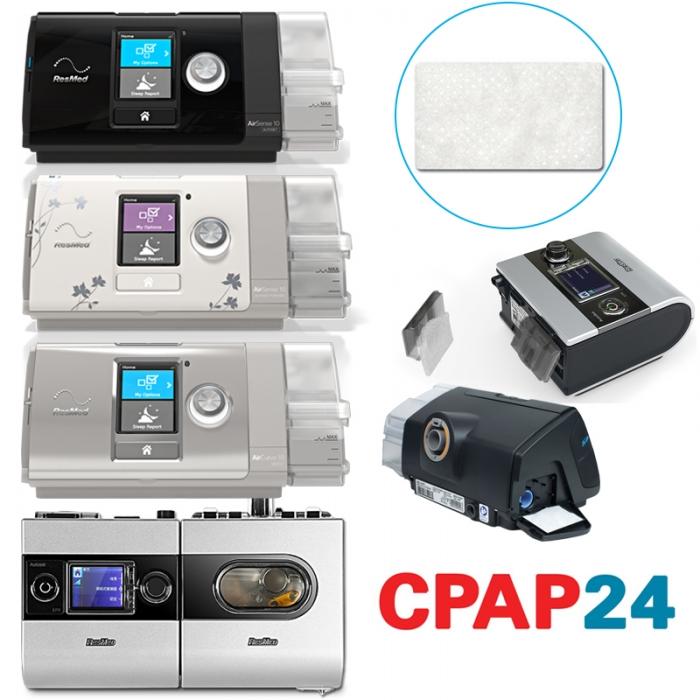 Filtru alb hipoalergenic CPAP Resmed (AirSense10 sau S9) 0