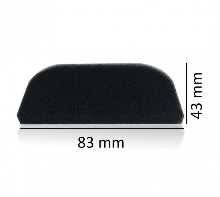 Filtru negru burete CPAP Resmart GI - BMC 2