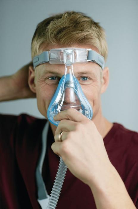 Masca CPAP Full Face Amara Gel 2