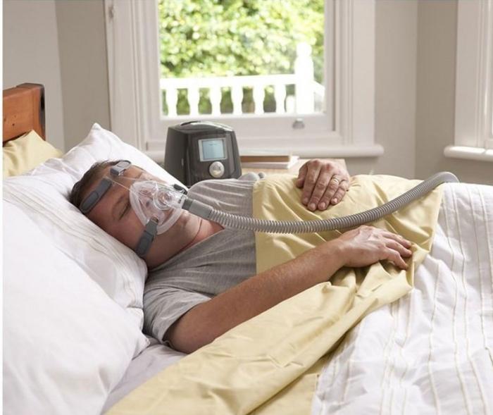 Masca CPAP Full Face F&P Simplus 6
