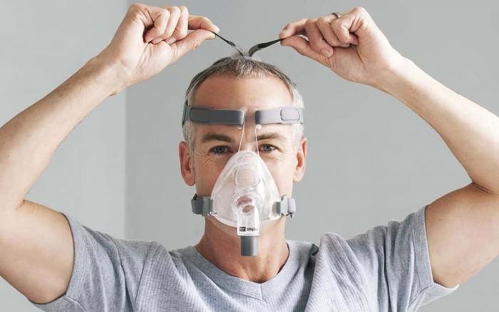 Masca CPAP Full Face F&P Simplus 5