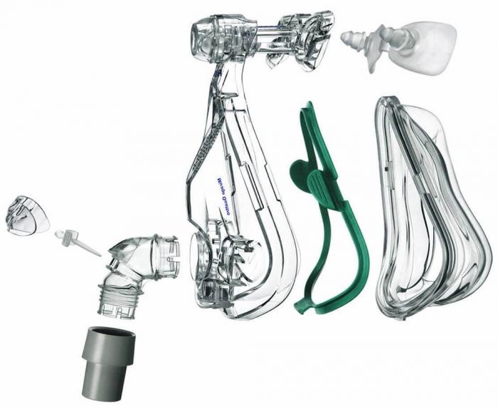 Masca CPAP Full Face Mirage Quattro 2