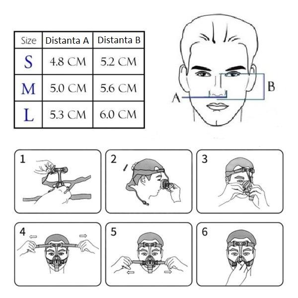 Masca CPAP Nazala BMC N4 [4]