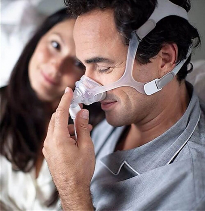 Masca CPAP Nazala WISP - cadru siliconic 4