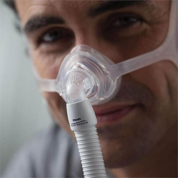 Masca CPAP Nazala WISP - cadru siliconic 2