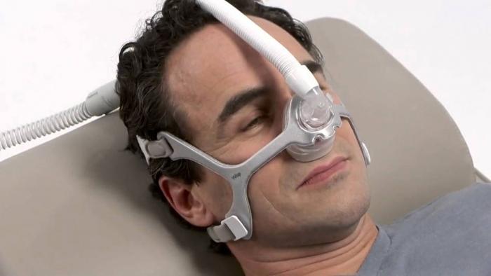 Masca CPAP Nazala WISP - cadru siliconic [3]