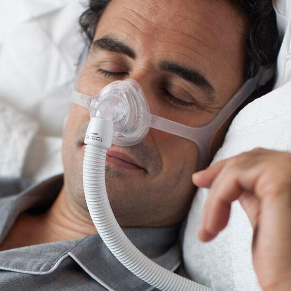 Masca CPAP Nazala WISP - cadru siliconic 3