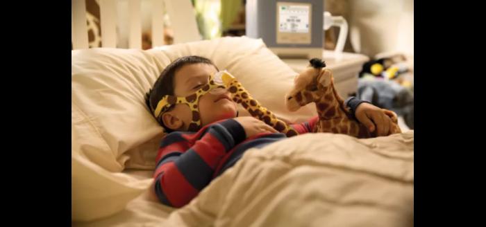 Masca CPAP Nazala Wisp Pediatric pentru copii 3