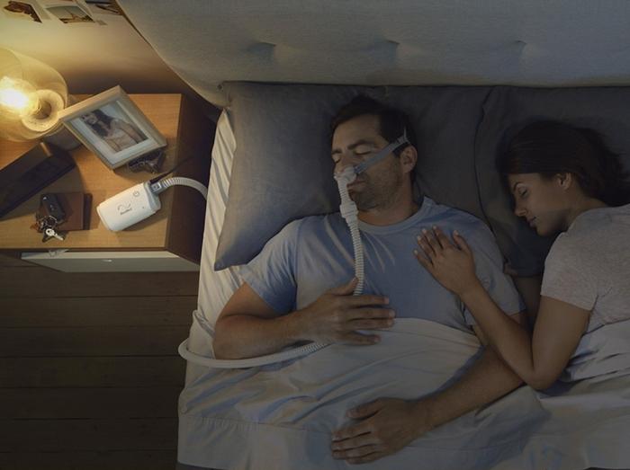 Masca CPAP Pillow AirFit P10 cu adaptor pt. AirMini 7