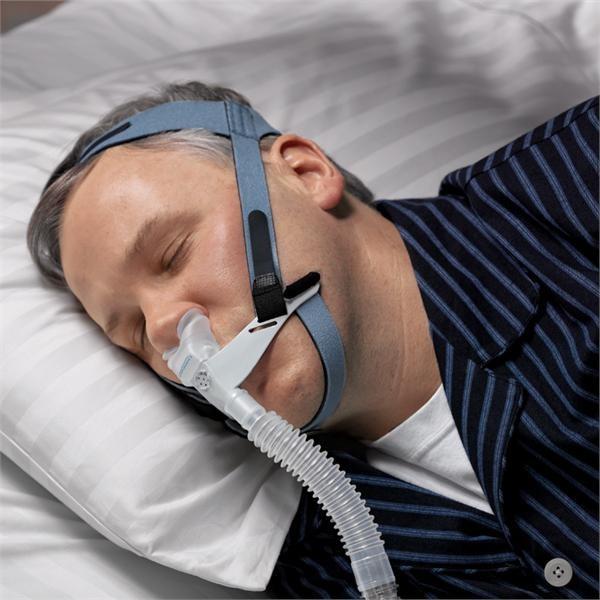 Masca CPAP Pillow cu blocare barbie - OptiLife 4