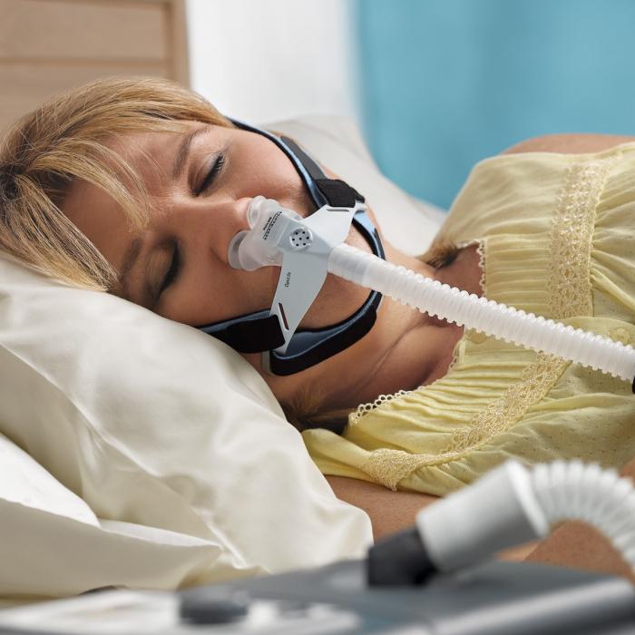 Masca CPAP Pillow cu blocare barbie - OptiLife 3