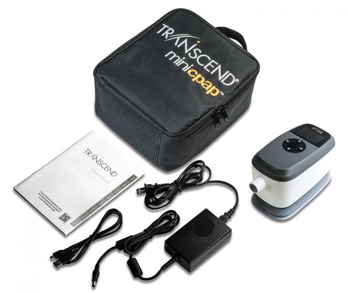 Mini APAP Portabil Transcend 365 AUTO cu Umidificator 5